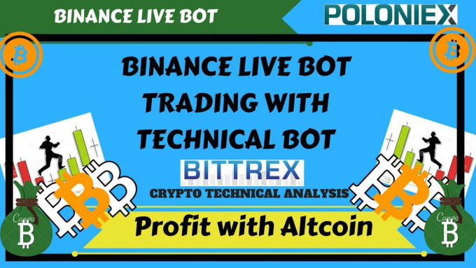 build profitable binance,bittrex and bitmex trade bot for you
