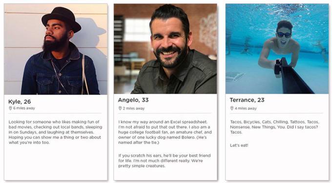Dating app profil