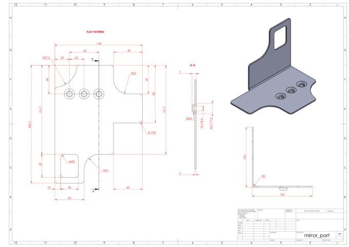 Make Models And Drawings Of Sheet Metal Parts And