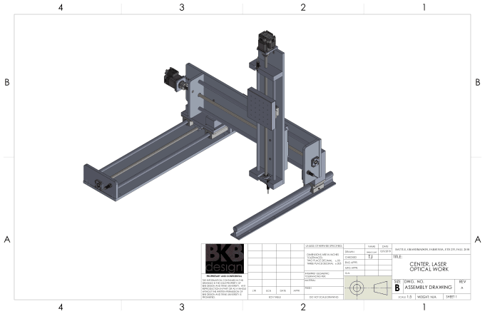 design an assembly in solidworks