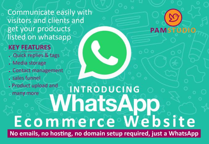 create whatsapp ecommerce onlinestore