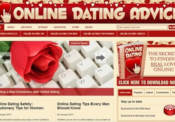 online dating stories blog