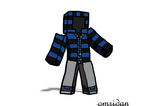draw you a high quality minecraft character by omriart