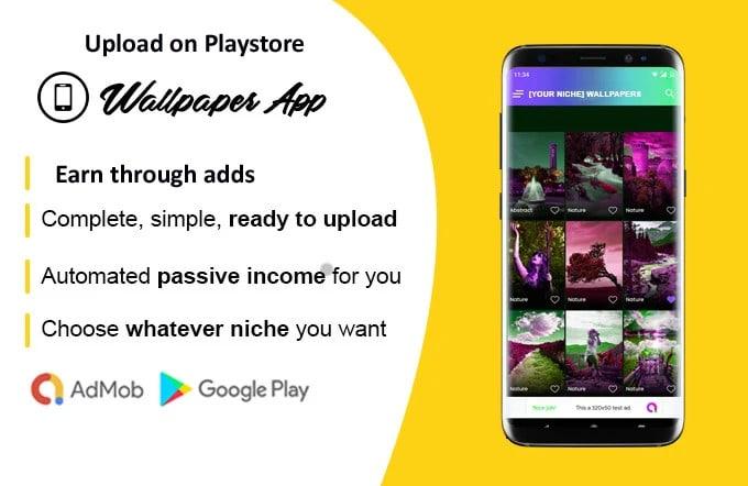 Make Wallpaper Android Applications