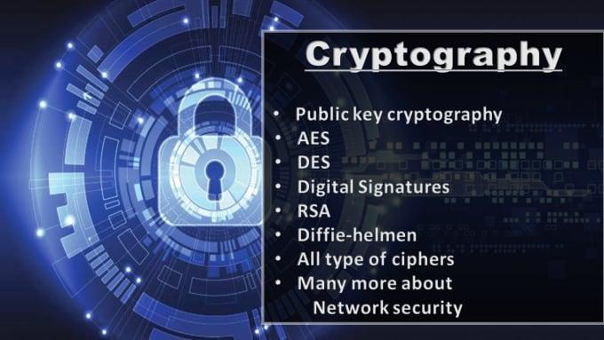 do crpytography, encryption, decryption tasks efficiently