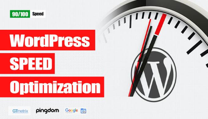 Do wordpress speed optimization with pagespeed gtmetrix by D