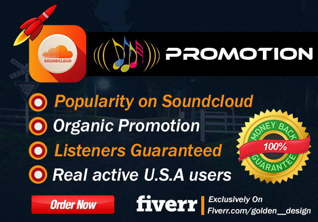 do organic soundcloud promotion for tracks to US audience