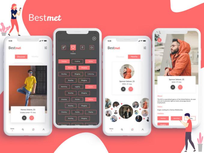 Online dating app som tinder