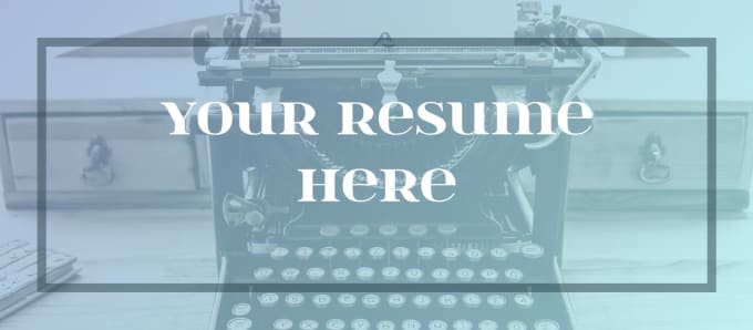 write a professional resume, cv, or cover letter for you