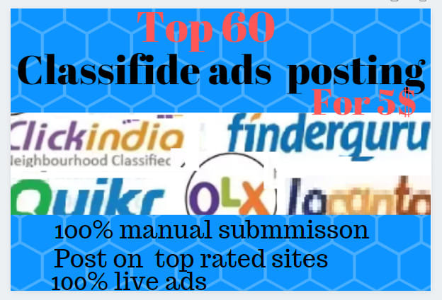 post your ads in top rated USA classified sites