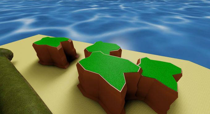 Create Roblox Terrain Using Blender For Your Roblox Game - how to make a roblox animation blender