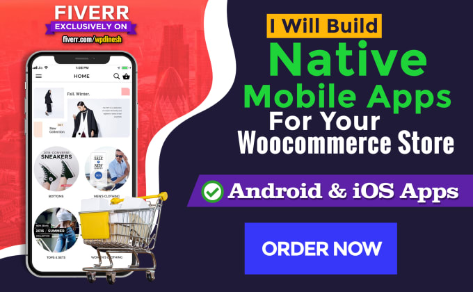 build native mobile apps for your e commerce store