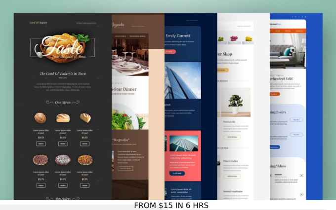 Design An Editable Pro Html Email Newsletter Template