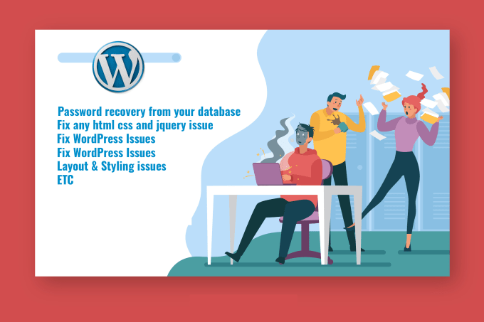 customize migrate wordpress or fix wordpress bug in 24hrs