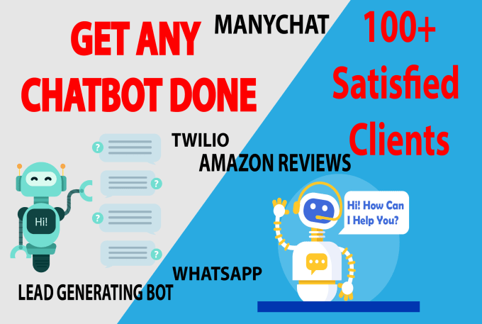 create fb messenger manychat bot or any other