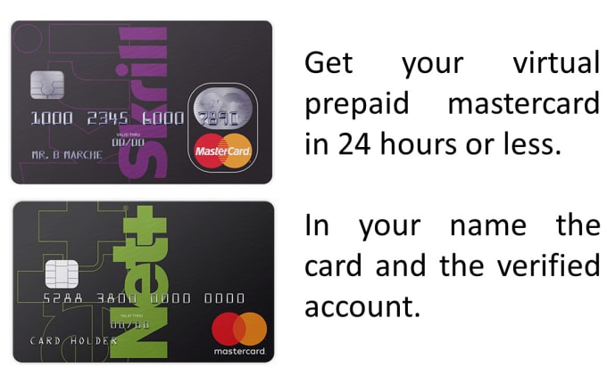get you a prepaid virtual mastercard from skrill or neteller