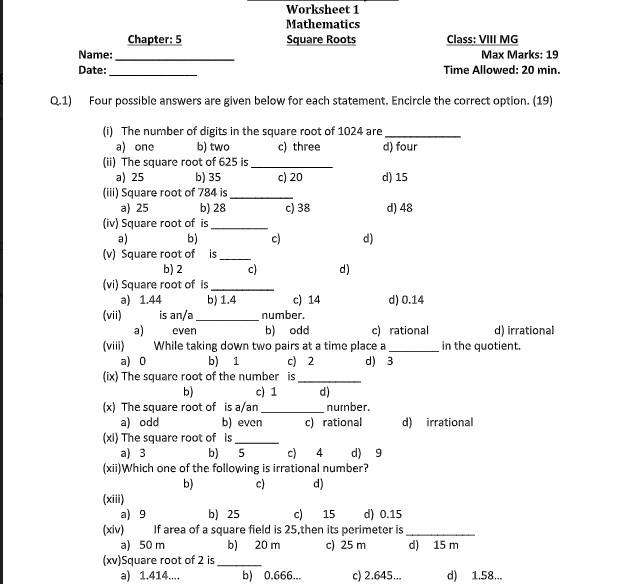 make awesome maths worksheets for all grades