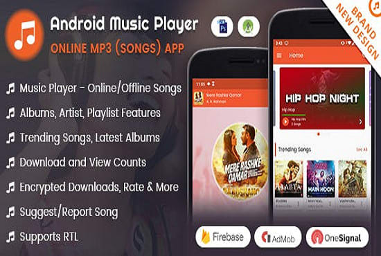 develop android mobile app online mp3