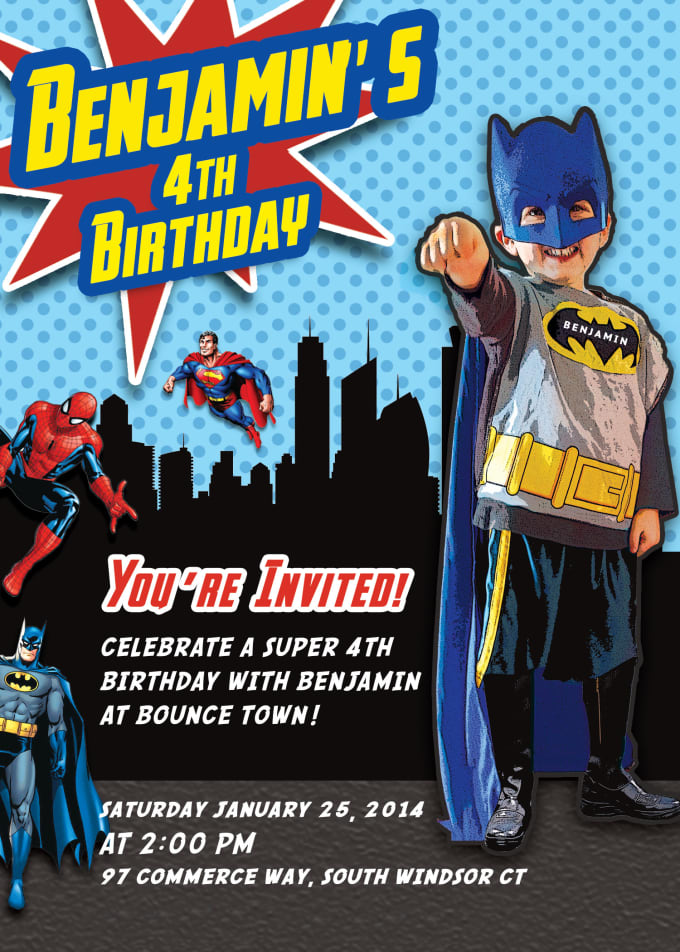 Create Birthday And Other Invitation Card Designs