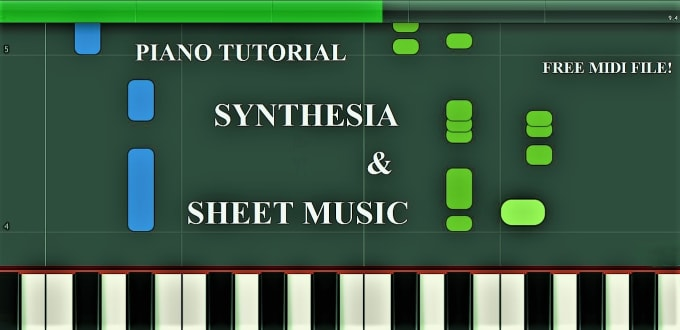 generate piano synthesia of desired song