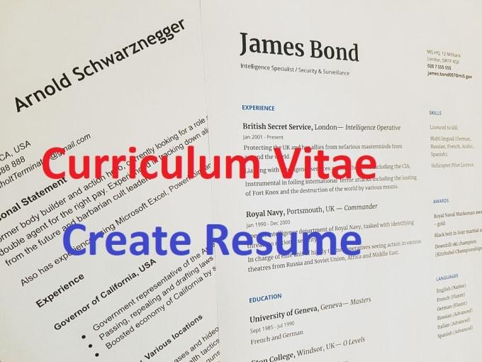 Do Make Your Resume Cv Curriculum Vitae