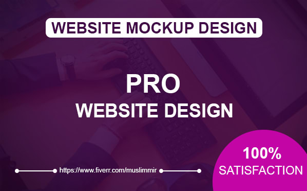 Design Creative Website Mockup Or Website Design By Muslimmir