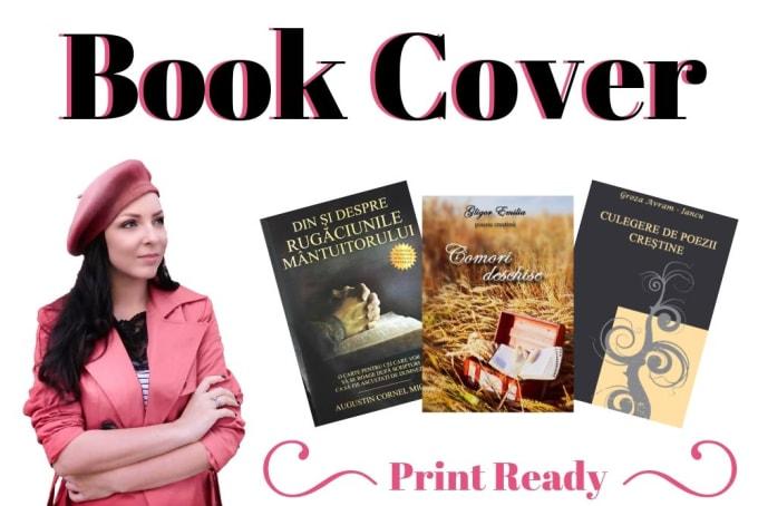 design a professional and unique book cover - GRAPHIC DESIGN