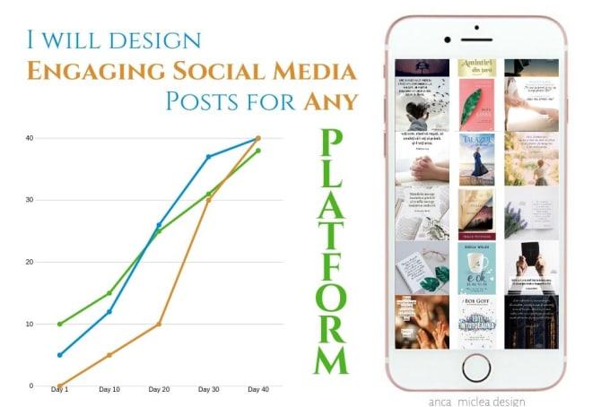 design high impact social media posts - GRAPHIC DESIGN