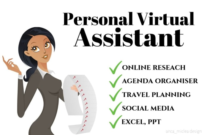 be your personal virtual assistant - GRAPHIC DESIGN