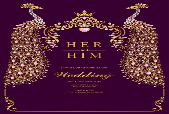 Design Best Birthday And Wedding Invitation Card With Name