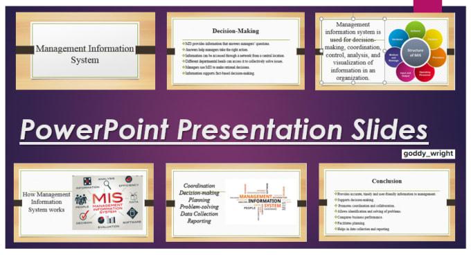 Design Professional Power Point Presentation Slides