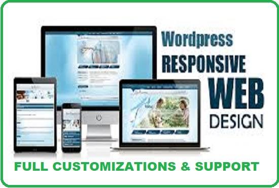 do wordpress website design and wordpress developing