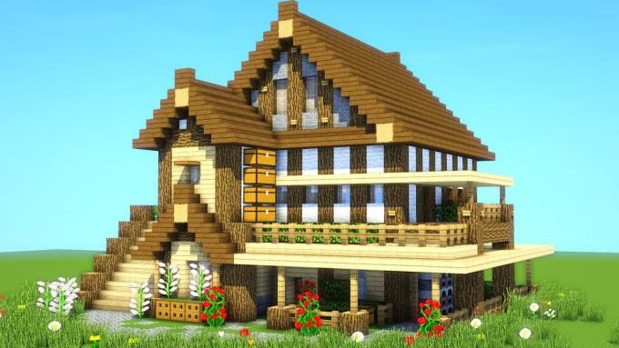 Minecraftsurvivalmansiontutorial Minecraft Ultimate Survival House Minecraft Survival House Tutorial Minecraft Ultimate Survival House Tutorial