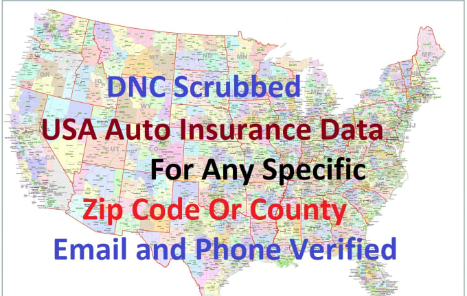 Usa Auto Insurance >> Provide 200 Usa Auto Insurance Data For Any Zip Code