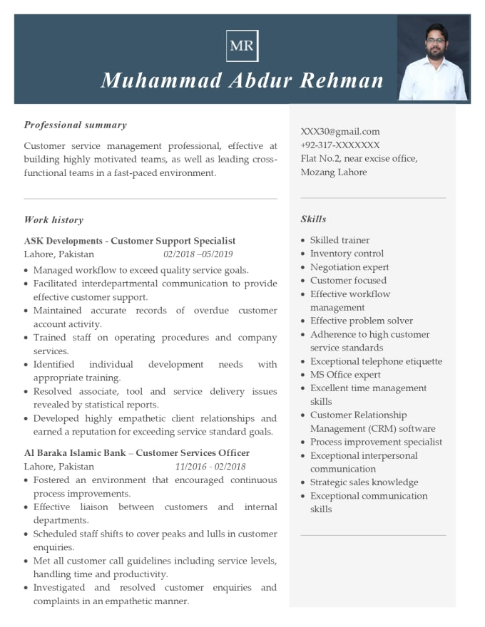 write your resume, cover letter
