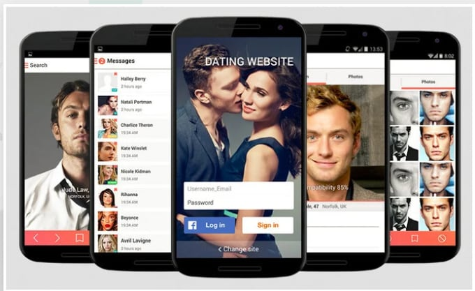 Tinder Dating Website >> Develop A Lovely Online Dating App Like Tinder Happy Badoo