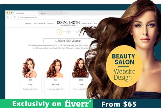 Create Stunning Beauty Nail Hair Salon Or Spa Website Free Premium Theme