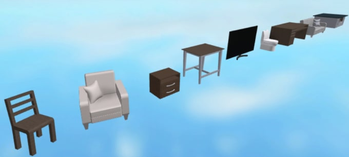 Stupendous Build You Any Furniture Model On Roblox Machost Co Dining Chair Design Ideas Machostcouk