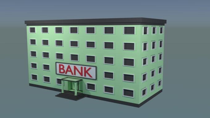 Do A House Model For Games In Blender