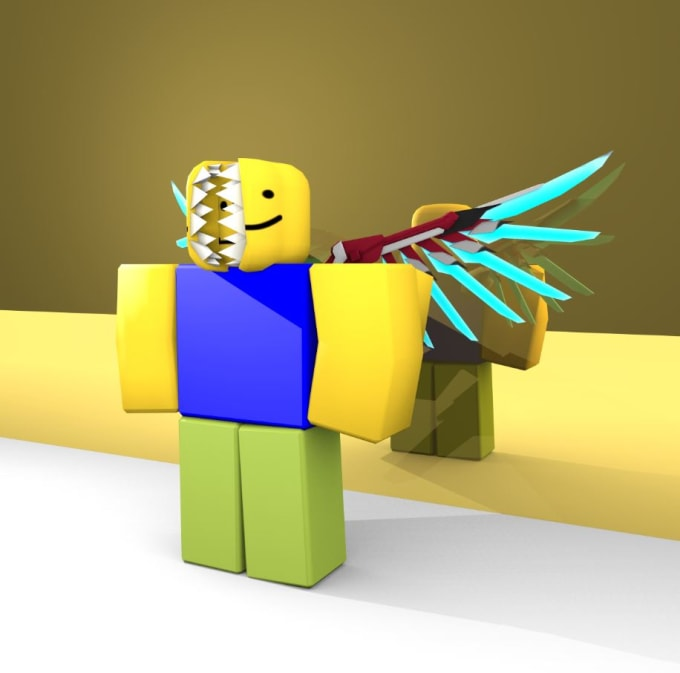 Make you a roblox rendered high quality gfx or banner by ...