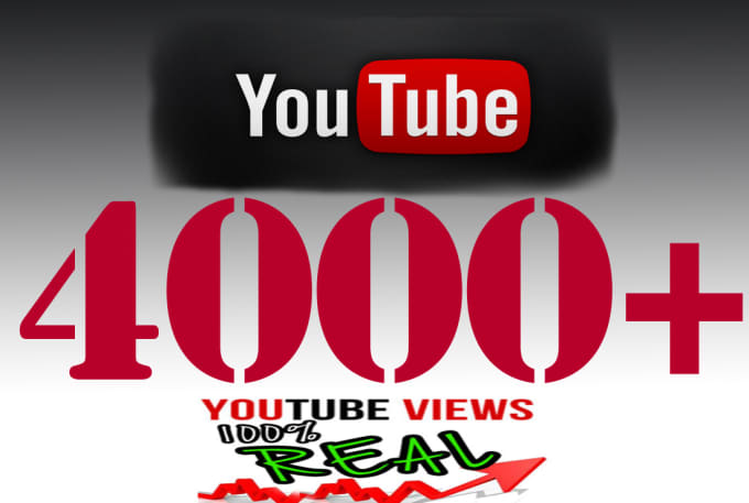 get you 4000 YouTube views
