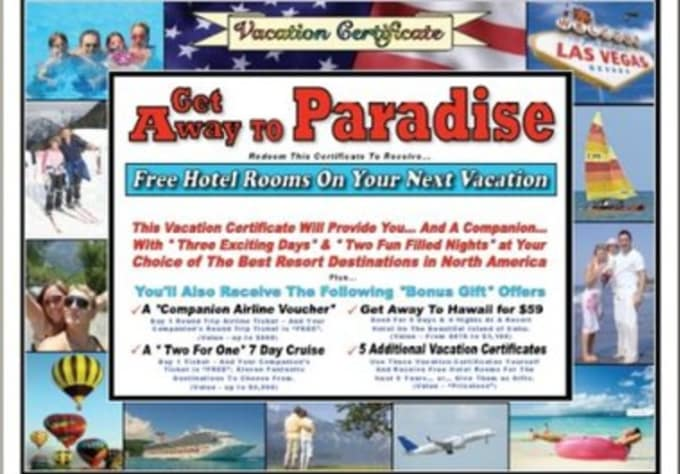 send you a free vacation voucher valued at 1 800 by mochiiscream