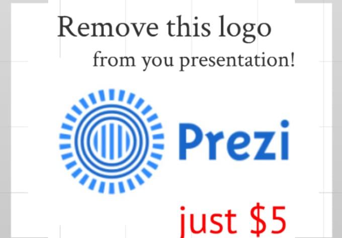 Remove Prezi Logo And Add Your