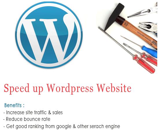 Improve wordpress website speed and performance by Vijaylath