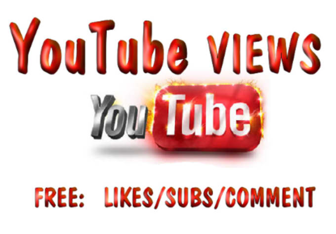 crasion84 : I will send you 20000 Real YouTube Views + FREE Likes, Subs,  Favorites, Comments for $5 on www fiverr com