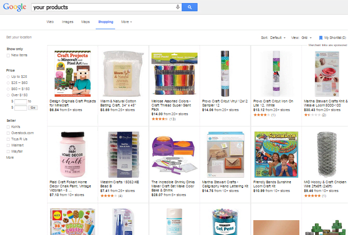 Create google shopping product data feed template and test it by ...