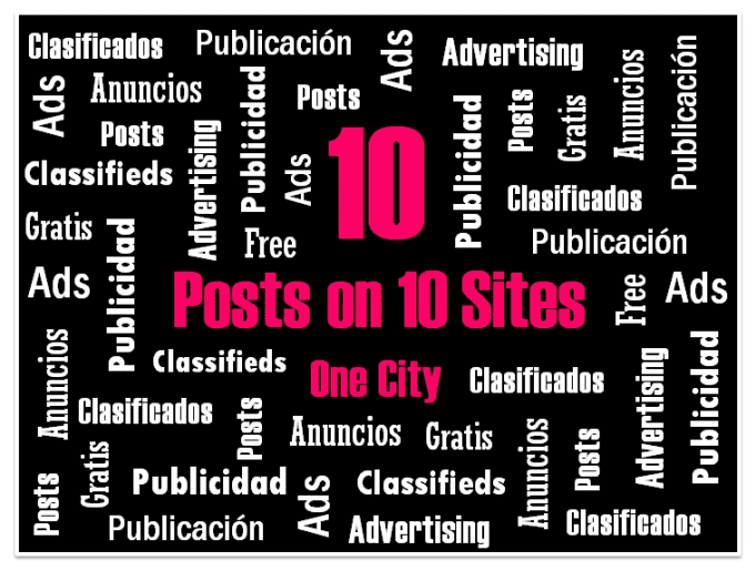 post your ads on 10 free classifieds sites