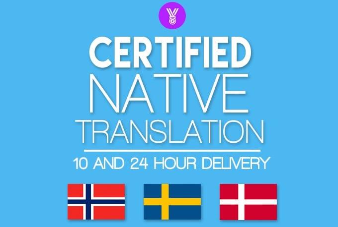 translate 400 words between swedish danish norwegian and. Black Bedroom Furniture Sets. Home Design Ideas