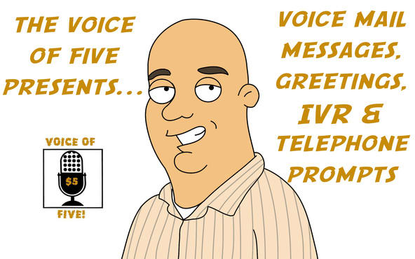 Record a professional voice mail message greeting phone prompt or record a professional voice mail message greeting phone prompt or ivr by voiceoffive m4hsunfo Choice Image