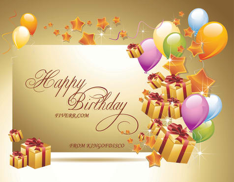Create A Custom Happy Birthday Card For Your Loved One By Kingofdisco